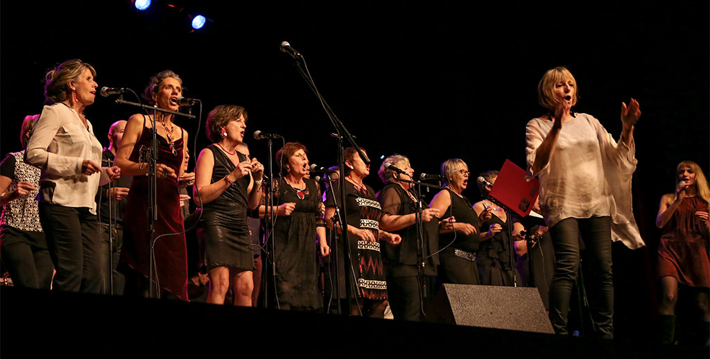 Concert Les Luettes Noires